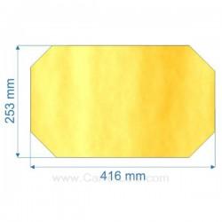 verre réfractaire Vitrocéramique 416x253 coins coupés