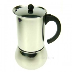 Cafetière italienne expresso en inox 6 tasses Carioca , reference 150TE002
