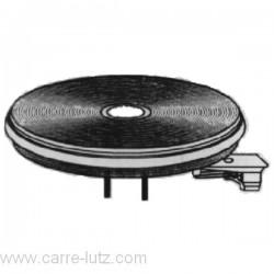 Plaque électrique automatique diamètre 180 mm 2000W , reference 204051