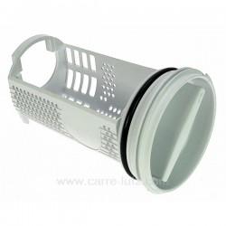 Filtre de pompe de vidange de lave linge Fagor Brandt LA0939000 51X4032 , reference 216175