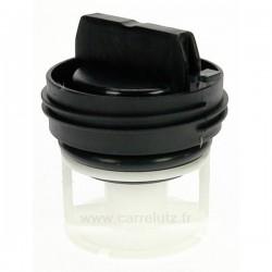 Bouchon de pompe de vidange de lave linge Bosch 00614351Aristonref. C00297161 , reference 216177