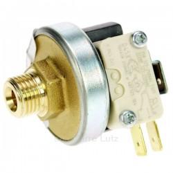 Pressostat 1.5 à 4 Bars 1/4 de pouce male avec micro interrupteur, reference 217405