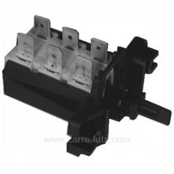 Clavier 1 touches à 6 cosses de lave linge Vedette Whirlpool Ariston Electrolux , reference 219055