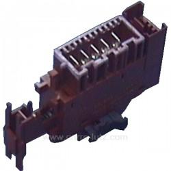 Interrupteur marche arrêt de sèche linge Laden Bauknecht Whirlpool 481227618221 , reference 219063