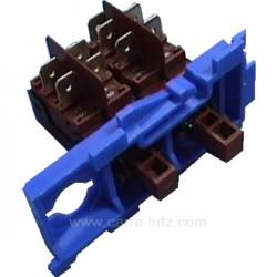 Selecteur 2 touches de lave vaisselle Brandt Vedette Thomson 31x6727 , reference 219238