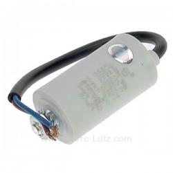 Condensateur permanent à fils 6 MF 450V, reference 230037