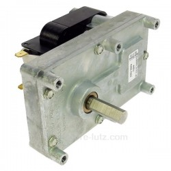 Motoréducteur de vis sans fin de poêle à pellets 1 tour/minute , reference 231501