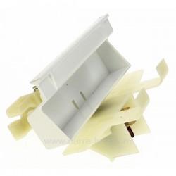 Fermeture de porte Blanche de lave vaisselle Ariston Indesit Scholtes C00039341 , reference 405616