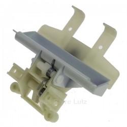 Fermeture de porte Blanche de lave vaisselle Ariston Indesit Scholtes C00048970 , reference 405617