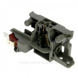 Fermeture de porte de lave vaisselle Ariston Indesit EVO3 C00195887 , reference 405628