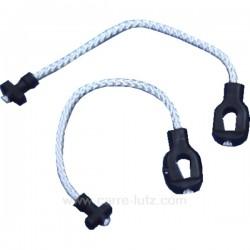 Cable de porte de lave vaisselle Fagor Brandt Vedette Thomson 32x1853 , reference 530014