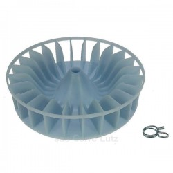 Turbine de ventilation de sèche linge Ariston Indesit C00226347 , reference 540264