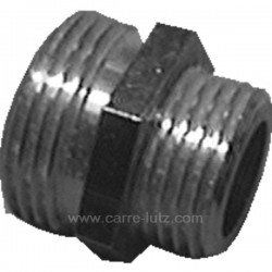 RACCORD METAL 1/2 MALE 3/4MALE Accessoires 543102, reference 543102