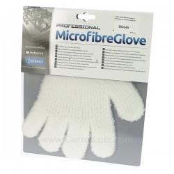 Gant microfibres pour le nettoyage de toutes surfaces