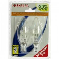 Ampoule halogene 42w 220v E14 par 2 Éclairage 620071, reference 620071