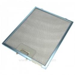 Filtre à graisse métal 239x298 mm de hotte aspirante, A.Martin Electrolux 50253939008, Ariston Scholtes , reference 701014