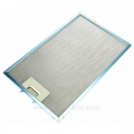 c00139286 filtre graisse m tal 242x380 mm de hotte aspirante ar. Black Bedroom Furniture Sets. Home Design Ideas