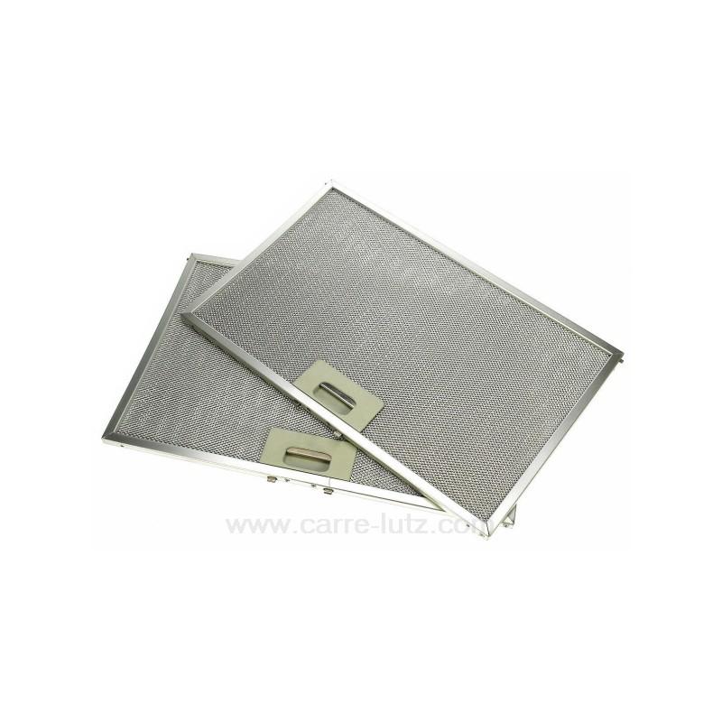 c00134794 2 filtres graisse m tal 385 x 245 mm de hotte aspiran. Black Bedroom Furniture Sets. Home Design Ideas