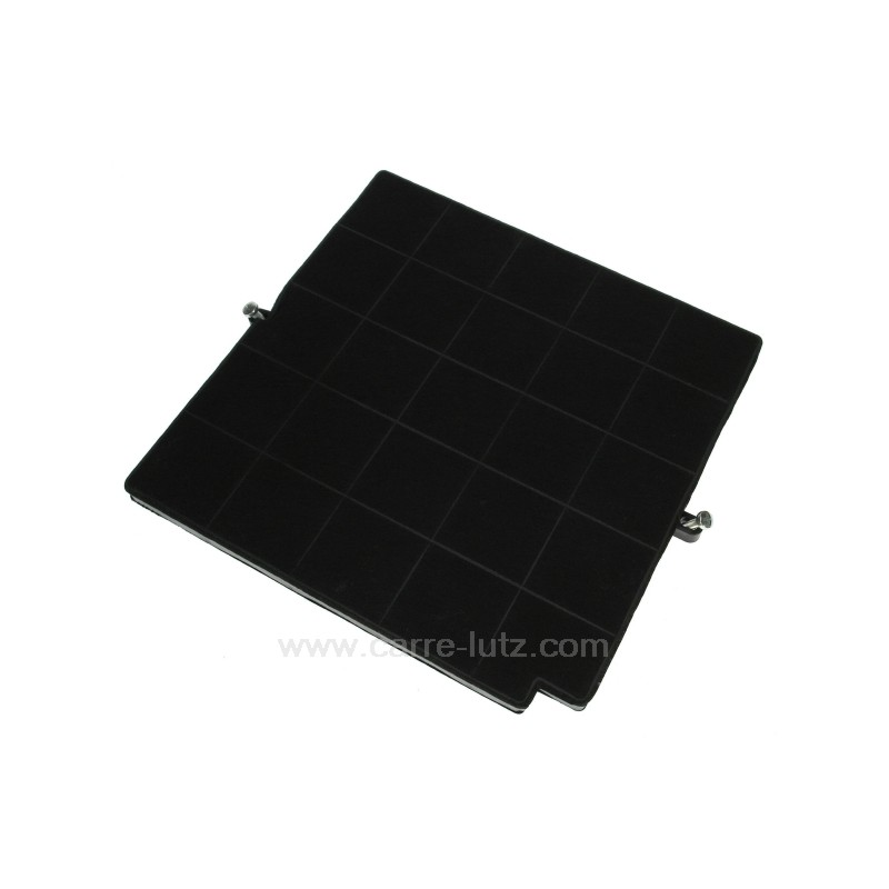 50288593002 filtre charbon actif 262 x 252 mm de hotte aspirante - Hotte aspirante charbon actif ...