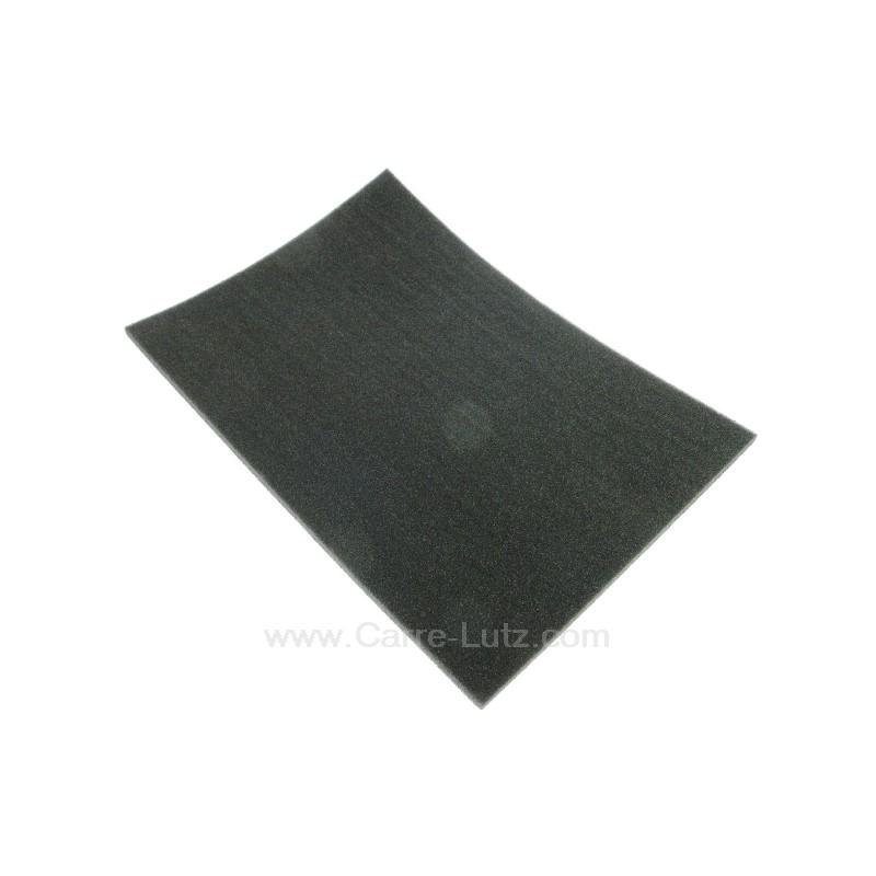 c00134170 filtre charbon actif mousse 455x315 mm de. Black Bedroom Furniture Sets. Home Design Ideas
