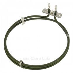 Résistance circulaire 2600W diamètre 200 mm de four à chaleur tournante Gaggenau Whirlpool 481925928279  , reference 703035