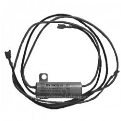 Filtre antiparasite 4 fils avec fixation 0,2 Mf, reference 730302