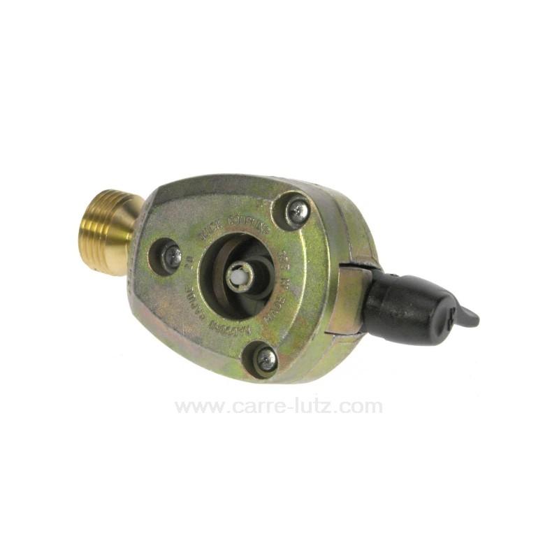 Adaptateur pour bouteille de gaz 20 mm ref 737021 for Adaptateur gaz de ville