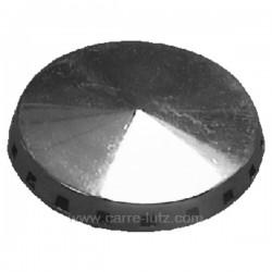 Chapeau de bruleur 38 mm de cuisinière Laden Whirlpool 481936068542 , reference 738012