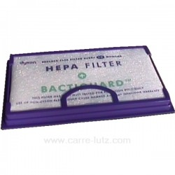 Filtre anti bacteries d'aspirateur Dyson DC02, reference 743440