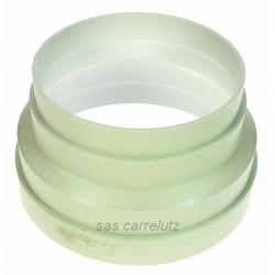 Réduction pvc 150/125 mm de sèche linge, reference 744110