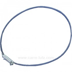 Collier de fixation de joint de hublot de lave linge Whirlpool Laden 481249298037 , reference 123014