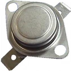 Thermostat de sécurité NC 120° ou L120° de sèche linge Brandt Vedette Thomson 57x0332 , reference 222114
