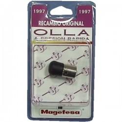 Soupape tournante noir d'autcuiseur Magefesa, reference 131MG102