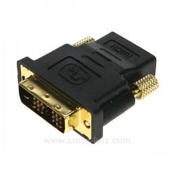 Adaptateur HDMI DVI Dore Accessoires 771695, reference 771695