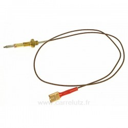 Thermocouple de table de cuisson tripla corona Ariston Indesit Scholtes C00074280 , reference 796010