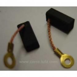 Jeu de charbon moteur 6,4x8x16,5 mmBoschPERCEUSE ELECTRONIC (0115673.7) ELECTRONIC (115670.1) ELECTRONIC (115670.3) ELECTRONI...