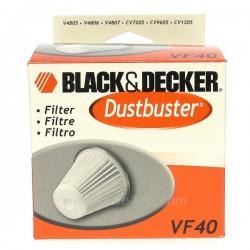 Filtre d'aspirateur VF40 Black&Decker, reference 802454