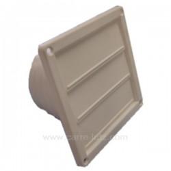 Clapet 3 volets blanc à encastrer, reference 804016
