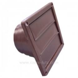 Clapet 3 volets marron à encastrer, reference 804017