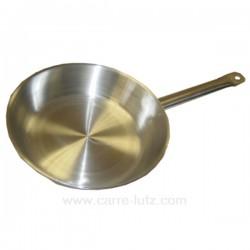 Poêle ronde acier 24 cm Lacor 51624, reference 991LC51624
