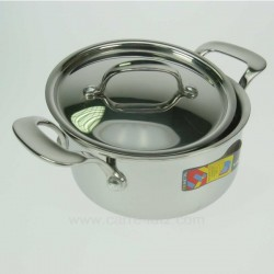 FAITOUT A COUVERCLE TRI METAL Batterie de cuisine 991LC53016, reference 991LC53016