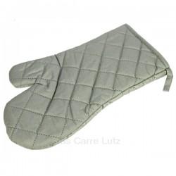 Gants textile aluminium pour manipuler sans risques les objets chauds et brulants, reference 991LC61030