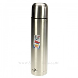 Bouteille isotherme Inox 1 litre Lacor 62444, reference 991LC62444