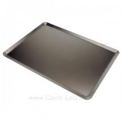 Plaque à fouren aluminium revêtu d'antiadhérent téflon dimensions 40 x 30 cm Lacor, reference 991LC68631