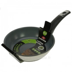 Poêle Céram Home 18 cm inox fond céramique Lacor Batterie de cuisine 991LC71218, reference 991LC71218