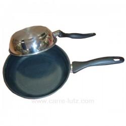 POELE ROTISSOIRE DURIT 24 CM Batterie de cuisine 991LC71824, reference 991LC71824
