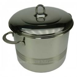 MARMITE TRAITEUR 24 CMS LUXE Batterie de cuisine 991LC78124, reference 991LC78124