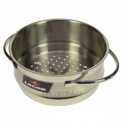 Panier vapeur inox diamètre 20 cm Belly 79420 Lacor, reference 991LC79420