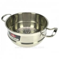 PANIER VAPEUR ROBUST 28 CM Batterie de cuisine 991LC93428, reference 991LC93428
