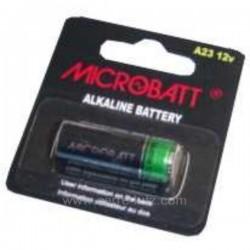 1 PILE 12V V23GA MICROBATT Accessoires 997014, reference 997014